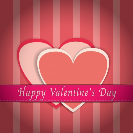 Happy Velentine s Card Vector