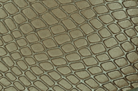 Close up texture of Artificial snake skin photo