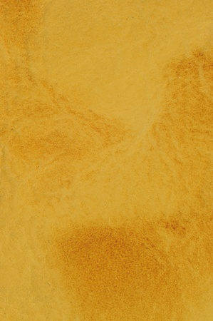 Yellow Leather texture background for use as Web element photo