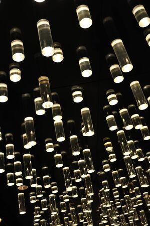 tubos fluorescentes: Antecedentes de tubo de vidrio iluminada