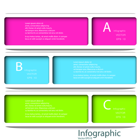 Modern Design template  can be used for infographics  numbered banners  horizontal cutout lines  graphic or website layout vector.  Effect of Gradient fil and Multiply Layer used in this file.