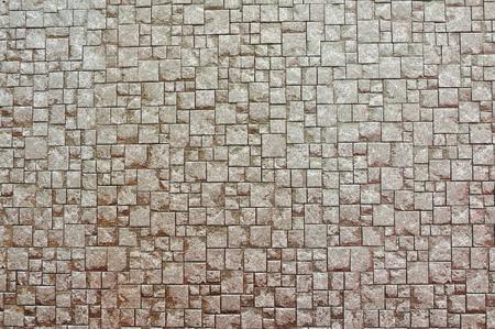 Fondo de la textura de la pared de ladrillo de Brown Foto de archivo