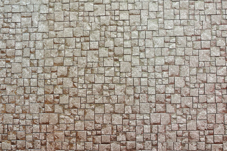Textuur achtergrond van bruine bakstenen muur Stockfoto