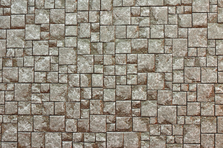 Texture Background of Brown brick wall photo