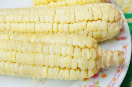 waxy: boiled waxy corn