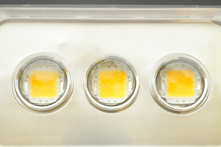 3-chip LEDs inside Flood light luminaire photo
