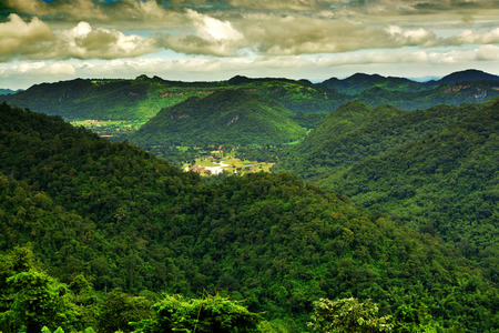 conserving: Scenic View of Kao Yai national park in Thailand Stock Photo