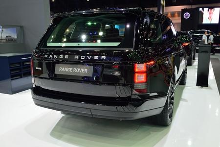 nonthaburi: NONTHABURI - DECEMBER 1: Range Rover Autobiography car display at Thailand International Motor Expo on December 1, 2014 in Nonthaburi, Thailand. Editorial