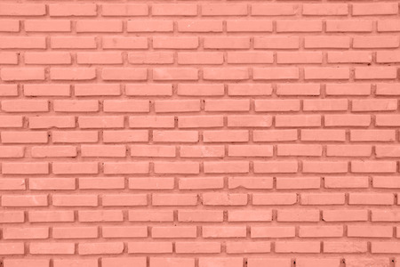 Red or brown wall of Cement Brick or Block as Background photo