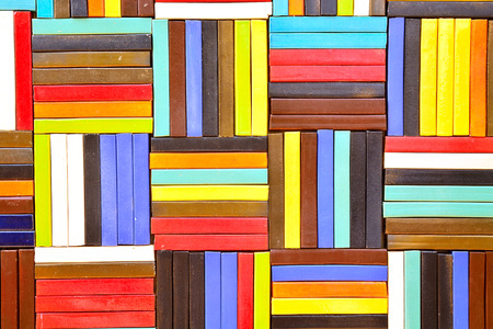 Colorful Ceramic Tile Patterns Background. photo