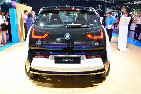 i3: BANGKOK - March 26 : New BMW i3 eDrive on DisPlay at 36th Bangkok International Motor Show on March 26, 2015 in Bangkok, Thailand. Editorial