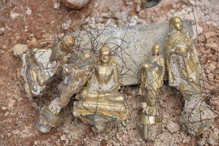 crucible: Finish Making a Mold of a Buddha