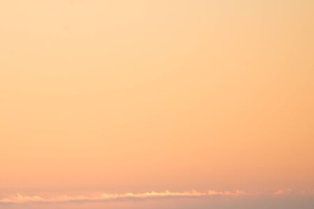 orange sky, sunrise gone Reklamní fotografie