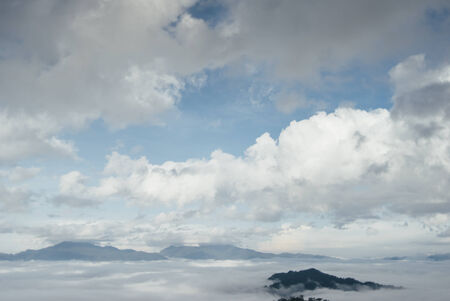 inversion: Cloud inversion and fog