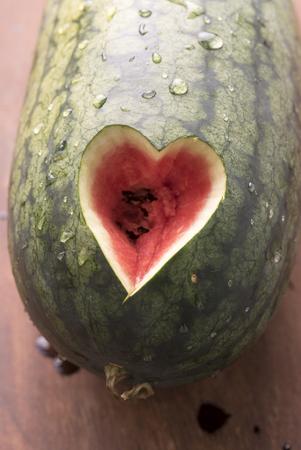 silhouette coeur: Watermelon Coeur
