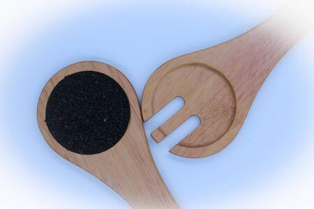 black: black sesame