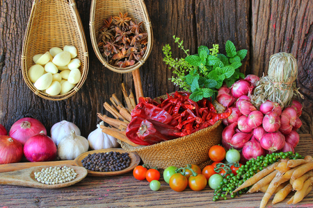condiment: Spice is a natural Use condiment Various types.
