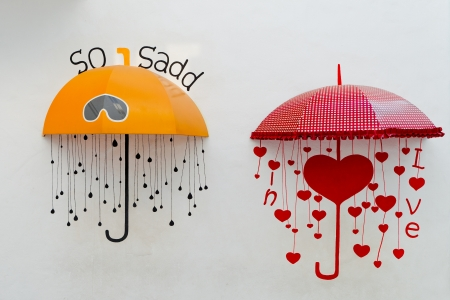 love in rain: Sad or Love
