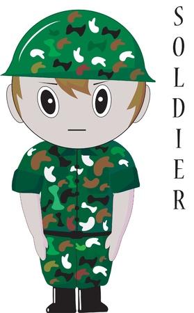 soldier thailand Illustration