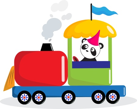 Le train d'entra�nement Panda.
