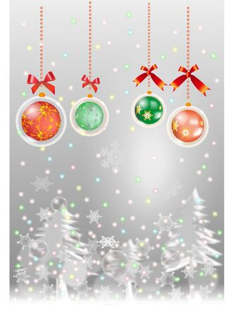 Snow chistmas Stock Vector - 11664208
