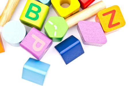 Toys on a white background Stock Photo - 12839330