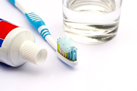 Brush your teeth Stock Photo - 12839321