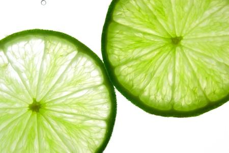Lime in the water Reklamní fotografie