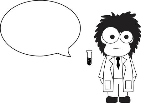 cientificos: Cient�fico de dibujos animados