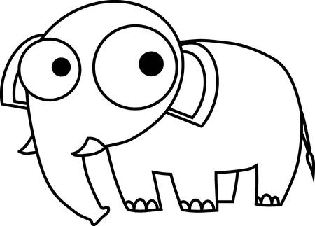delineate: Elephant