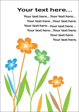 Background flower vector Stock Vector - 15013702