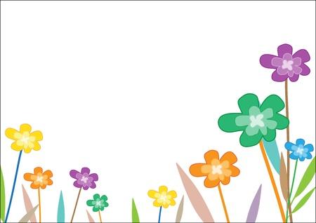 Background flower Stock Vector - 15013750