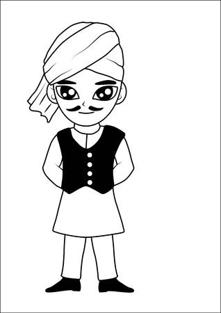 Men turban