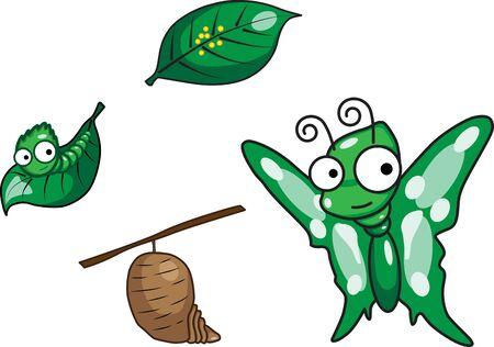 sapless: Il ciclo di vita della farfalla