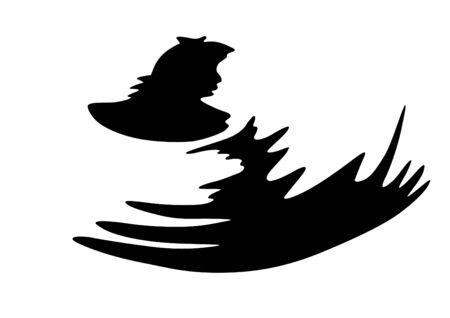 line drawings: Line drawings ducks