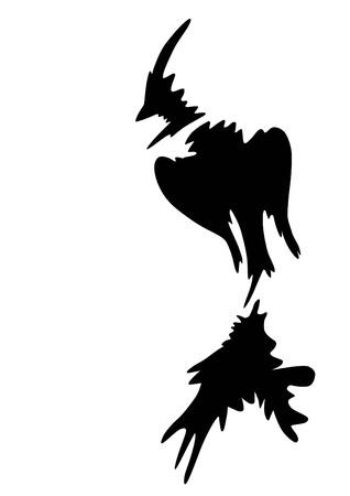phoenix bird: Phoenix bird drawings