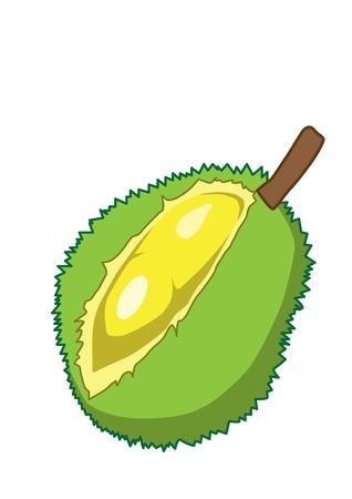 Thai dessert: Durian