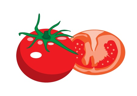 cartoon tomato: Tomato