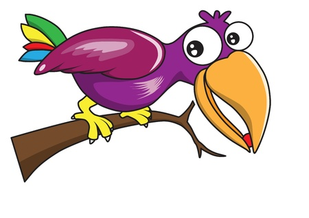 hornbill: Bird  cartoon