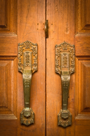 Antique door handles  photo