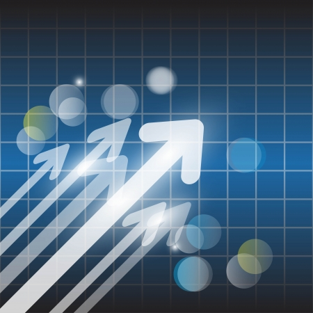 ecoration: Abstract vector arrow background