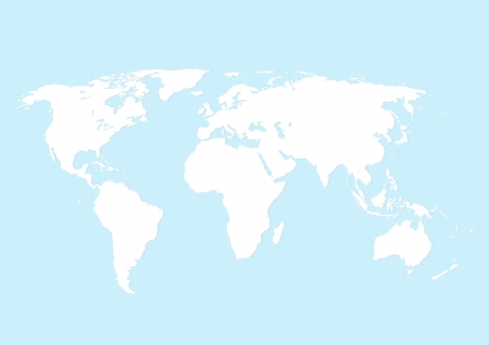 Map of the world Stock Vector - 17619206