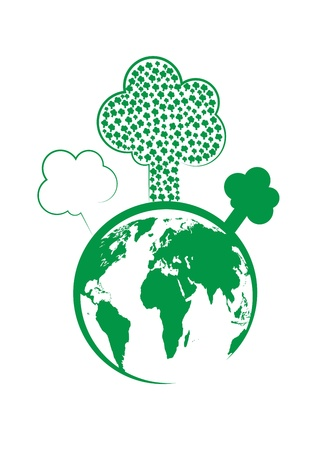 gaia: Tree and the world vector