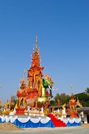 masters of rock: Fairy tale bird in Thai style art