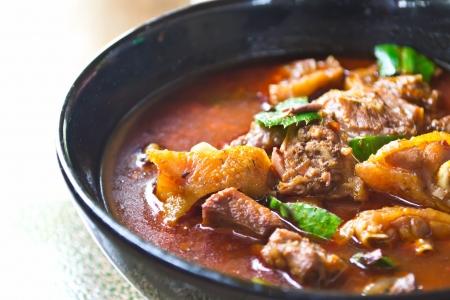 masala: Chicken Curry, comida tailandesa Foto de archivo