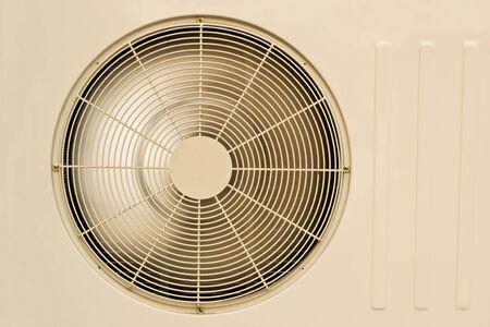 coolant temperature: air conditioner fan Stock Photo