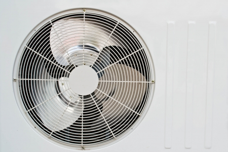 coolant: air conditioner fan Stock Photo