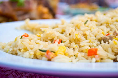 Fried rice dish Stock Photo - 19310450