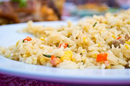 Fried rice dish Stock Photo - 19310450