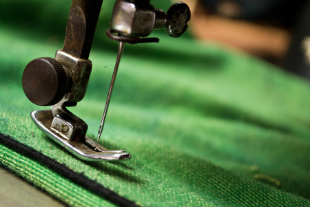 sewing process in the phase